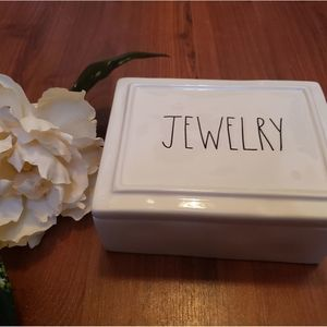 NWT Rae Dunn Jewelry Box